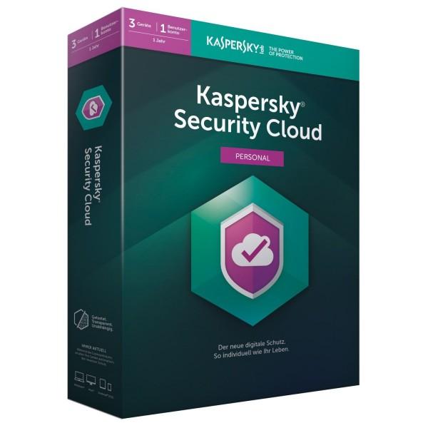 Kaspersky Security Cloud Personal, 1 Jahr