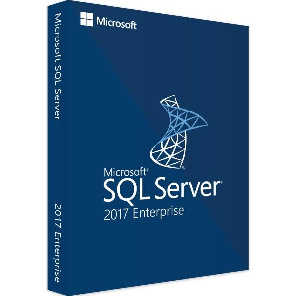 Microsoft SQL Server 2017 Enterprise, 2 Core
