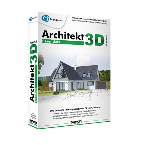 Avanquest Architekt 3D 20 Essentials