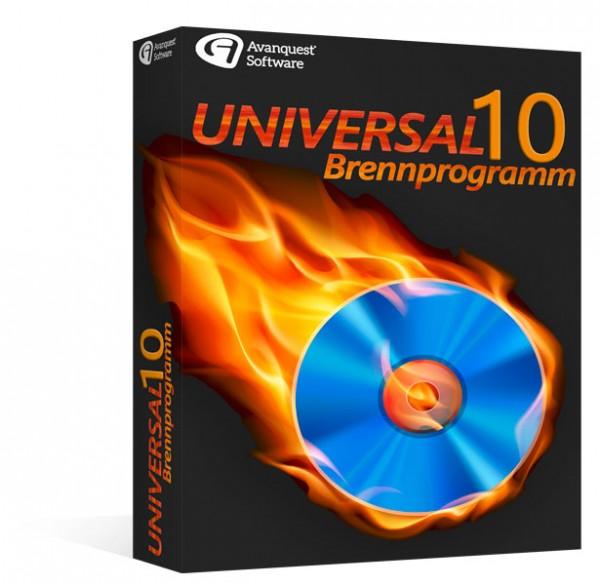 Avanquest Universal Brennprogramm