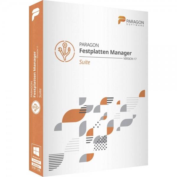 Paragon Festplatten Manager 17 Suite