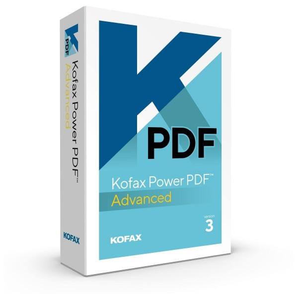 Kofax Power PDF Advanced 3.0 Windows