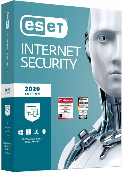ESET Internet Security 2020 Voll­ver­si­on