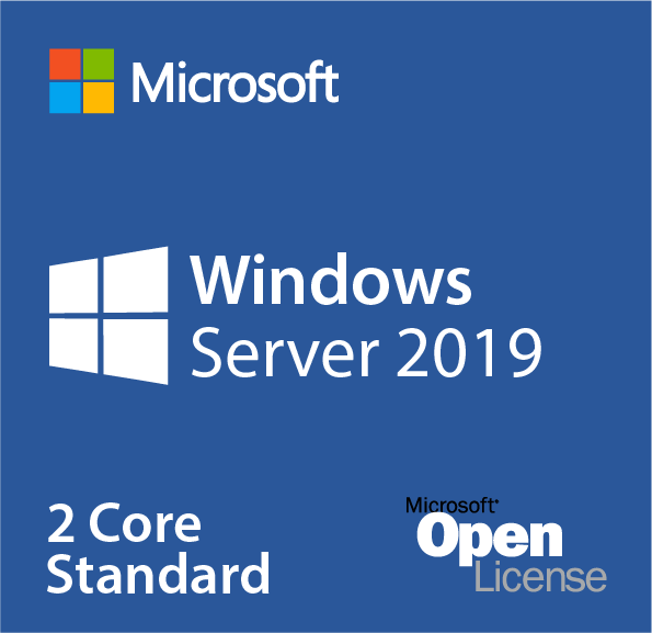 Microsoft Windows Server 2019 Datacenter - 2 Core Add-on Lizenz (AdditionalProduct )