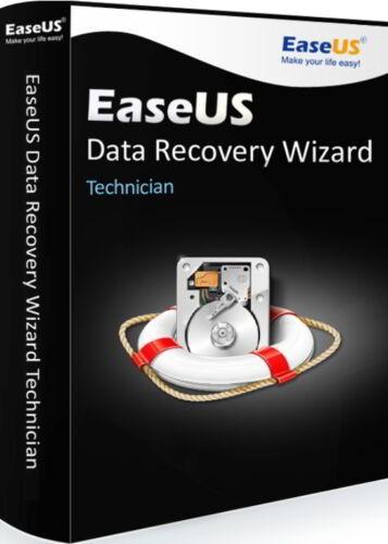 EaseUS Data Recovery Wizard Technican 13.2 (Lifetime Upgrades)