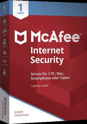 McAfee Internet Security 2020 1 Jahr