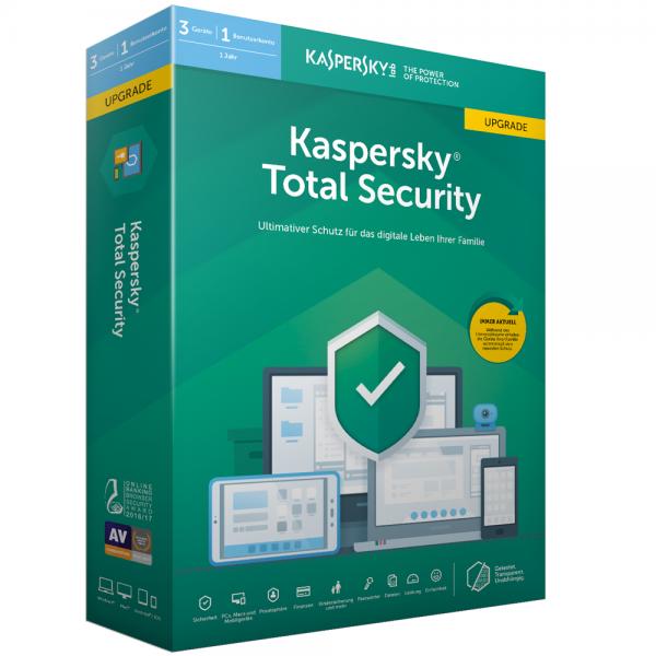 Kaspersky Total Security 2020 Upgrade