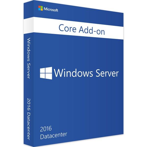 Windows Server 2016 Datacenter, Core AddOn Zusatzlizenz