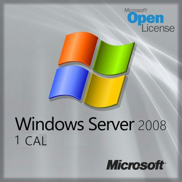 Microsoft Windows Server 2008, 1 Nutzer CAL