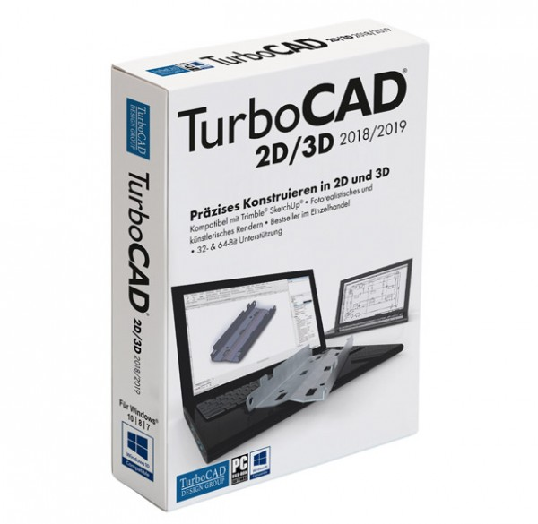 TurboCAD 2D/3D 2018/2019 Vollversion, [Download]