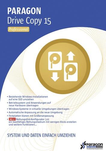 Paragon Drive Copy 15 Professional, Download