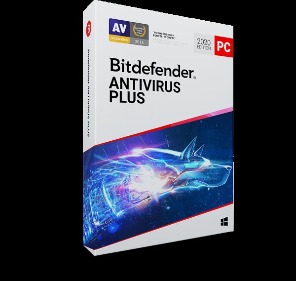 Bitdefender Antivirus Plus 2020 Vollversion
