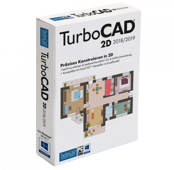 TurboCAD 2D 2018/2019
