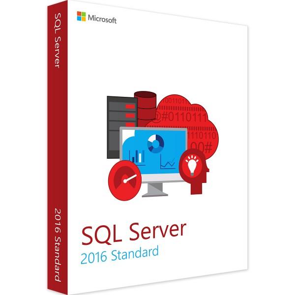 Microsoft SQL Server 2016 Standard 1 User CAL