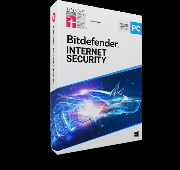 Bitdefender Internet Security 2020, 3 Jahre Vollversion