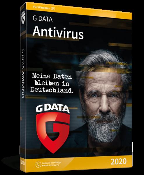 G Data Antivirus 2020, 3 Geräte, 1 Jahr