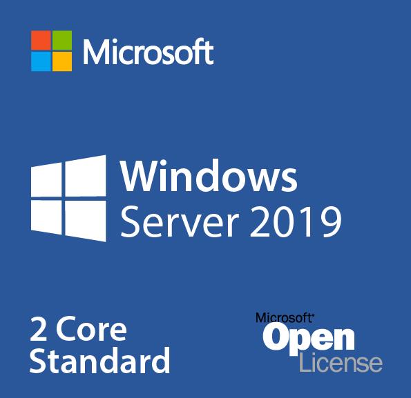 Microsoft Windows Server 2019 Standard - 2 Core Add-on Lizenz (AdditionalProduct )