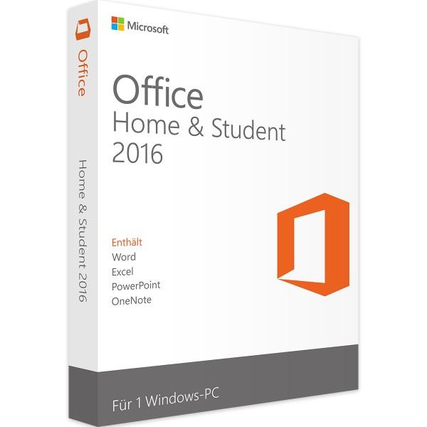 Office 2016 Home and Student günstig kaufen