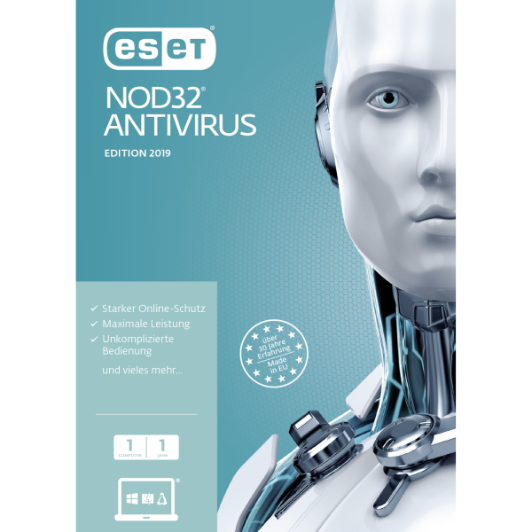 ESET NOD32 Antivirus 2020 Vollversion