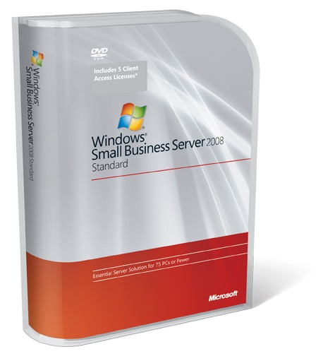 Microsoft Windows Small Business Server 2008 Standard inkl.5 CAL