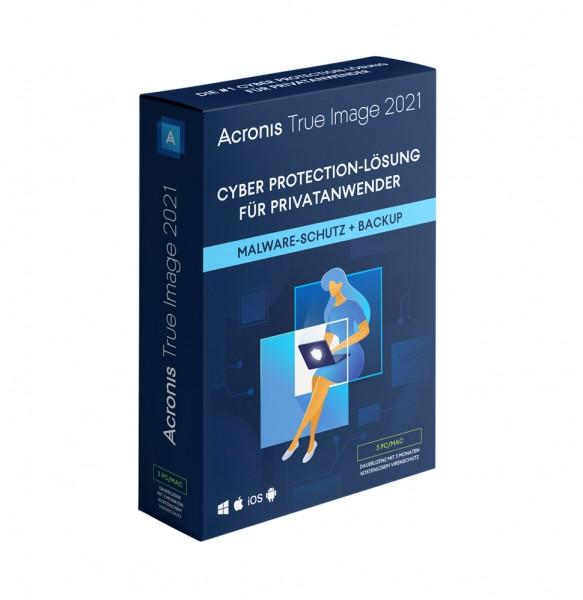 Acronis True Image 2021 Premium 1 Jahr Abonnement inkl. 1TB Cloud