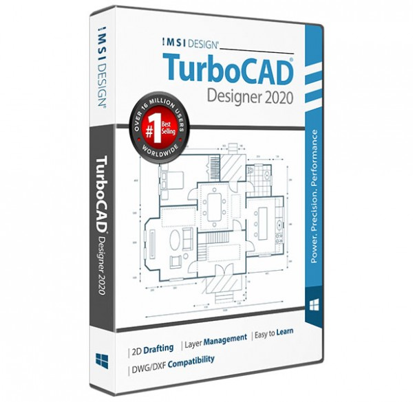 TurboCAD 2020 Designer, English