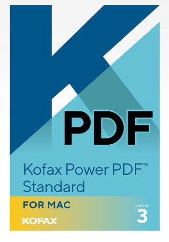 Kofax Power PDF Standard 3 Multilanguage