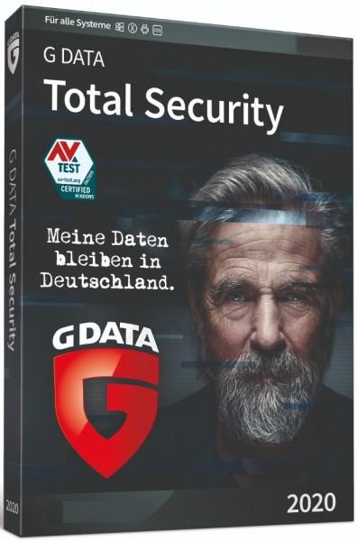 G Data Total Security 2020, 1 Jahr