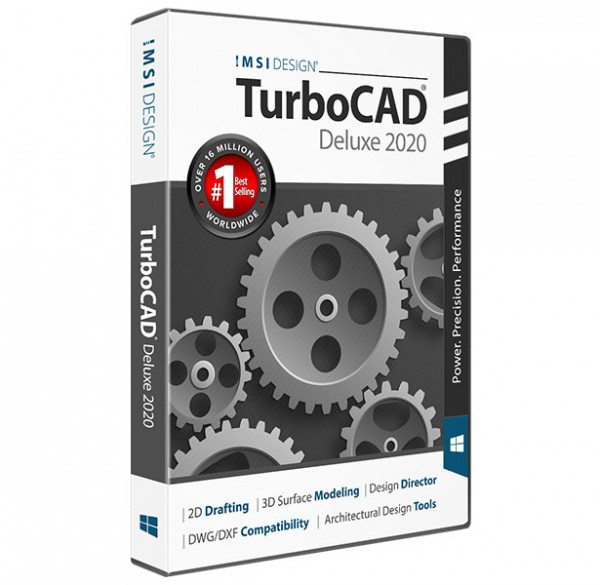TurboCAD 2020 Deluxe, English