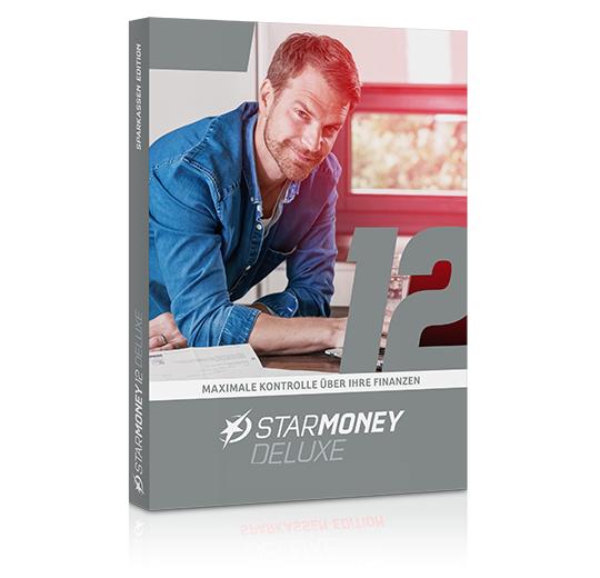 StarMoney 12 Deluxe, Jahreslizenz, Deutsch inkl.Premiumsupport