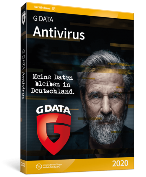 G Data Antivirus 2020, 1 Jahr