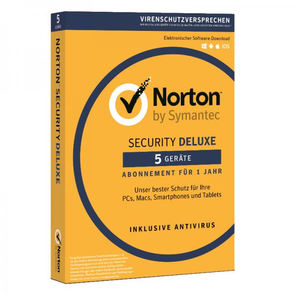 Symantec Norton Security Deluxe 3.0, 3 Geräte 1 Jahr
