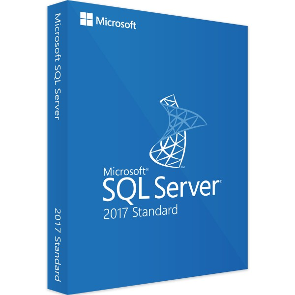 Microsoft SQL Server 2017 Standard, 1 User CAL