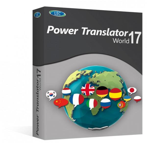Avanquest Power Translator 17 World Edition, Vollversion, [Download]