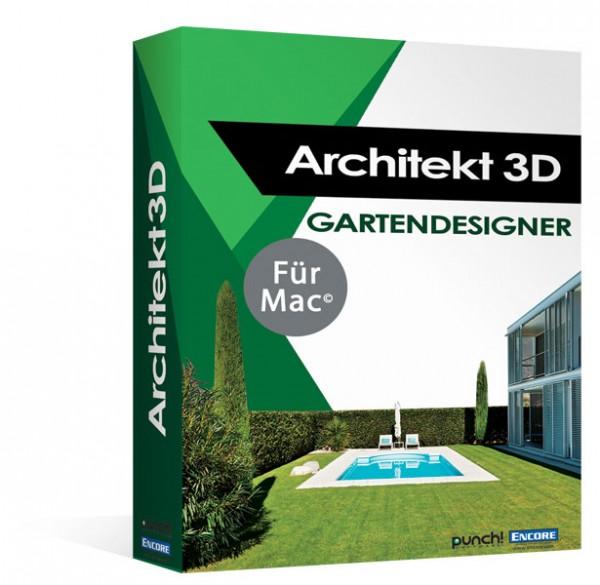Avanquest Architekt 3D X9 Gartendesigner 2017, MacOS