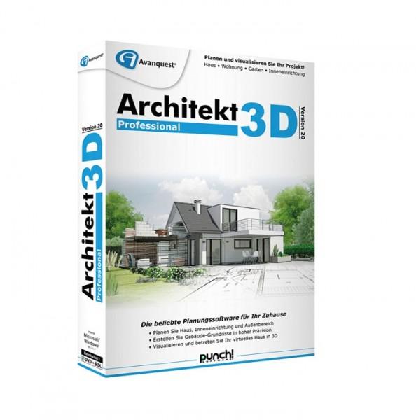 Avanquest Architekt 3D 20 Professional