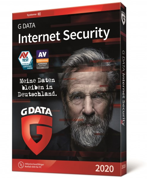 G Data Internet Security Multi Device 2020, 2-3 Jahre