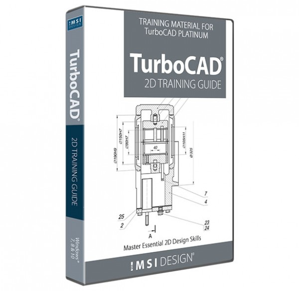 2D Training Guide for TurboCAD, English
