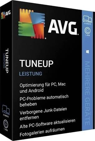 AVG TuneUp 2020 Vollversion 1 Jahr