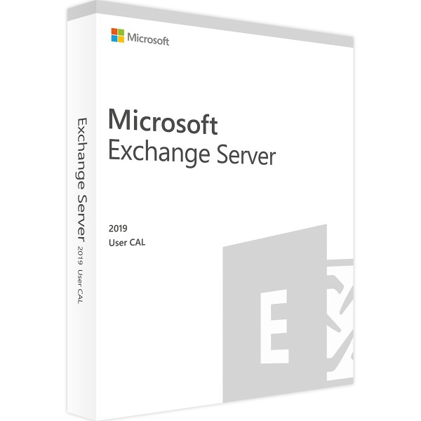 Microsoft Exchange Server 2019 Standard, 1 User CAL