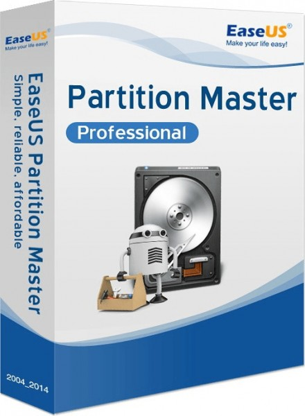 EaseUS Partition Master Professional 14 Download ESD