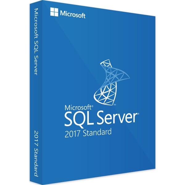 Microsoft SQL Server 2017 Standard, 1 Device CAL