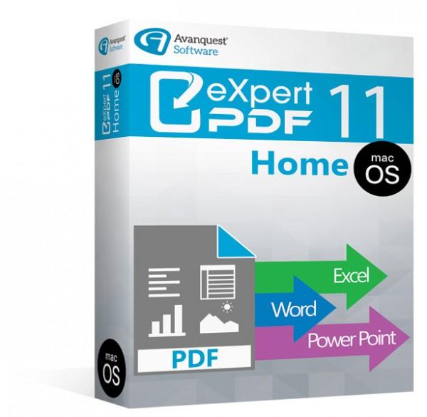 Avanquest Expert PDF 11 Mac - Home